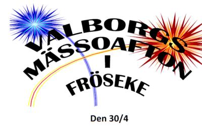 Valborgsfirande i Fröseke är inställt