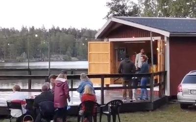 Musikunderhållning i Uvaparken
