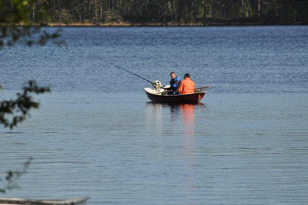 Fiska i Uvasjön